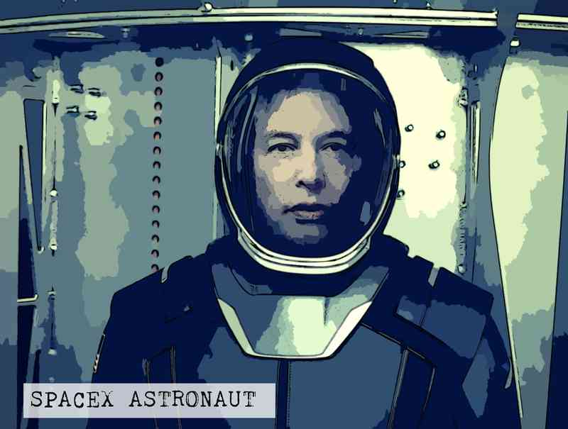 Musk Astronaut Suit