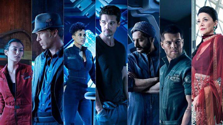The Expanse cast