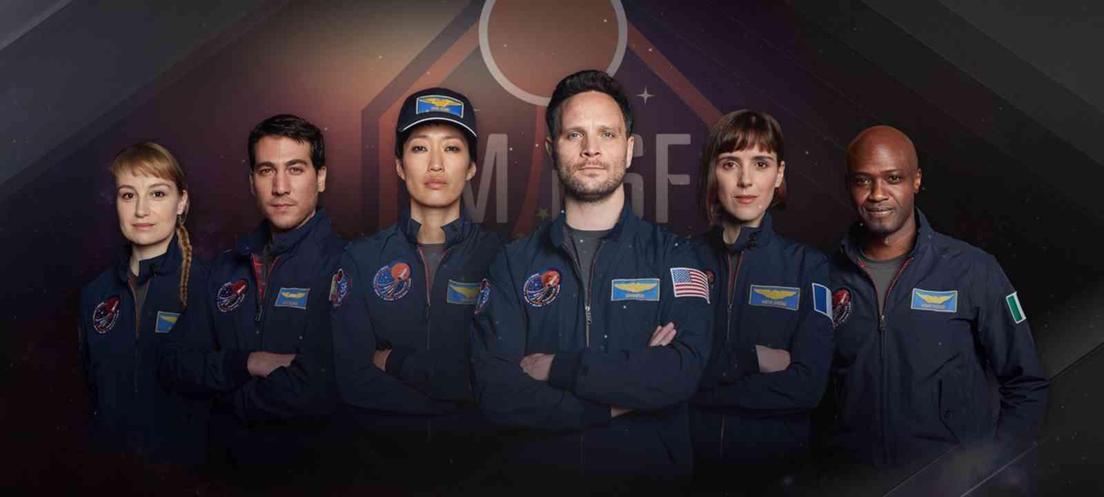 Nat Geo Mars Crew