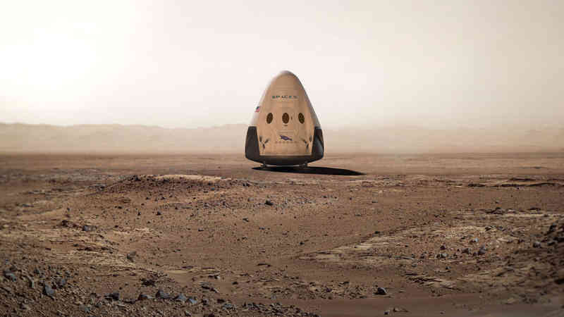SpaceX Red Dragon Mission