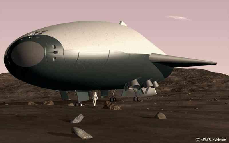 Ares Spacecraft