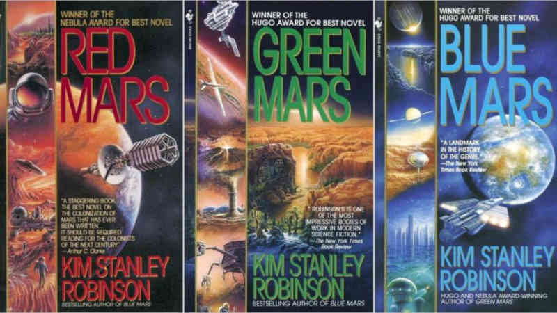 The Mars Trilogy Book Cover