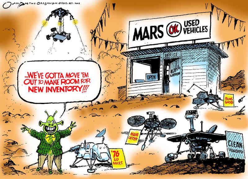 Mars comic