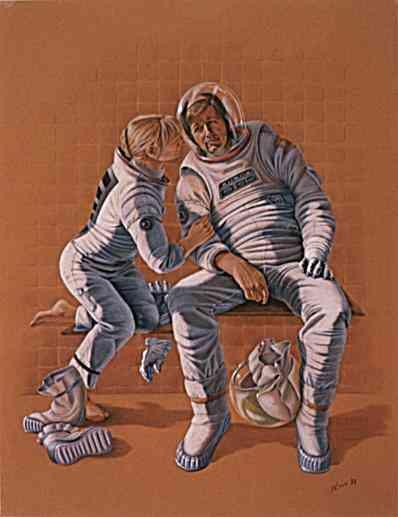 Astronaut Couple