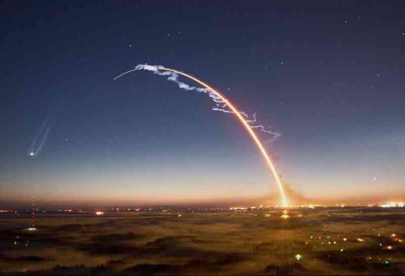 Shuttle Orbital Curve