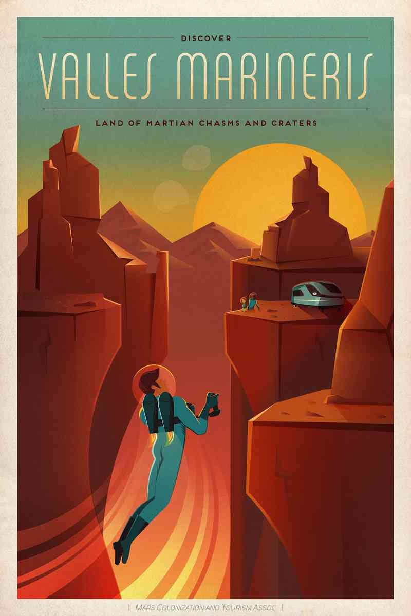 Visit Mars by NASA