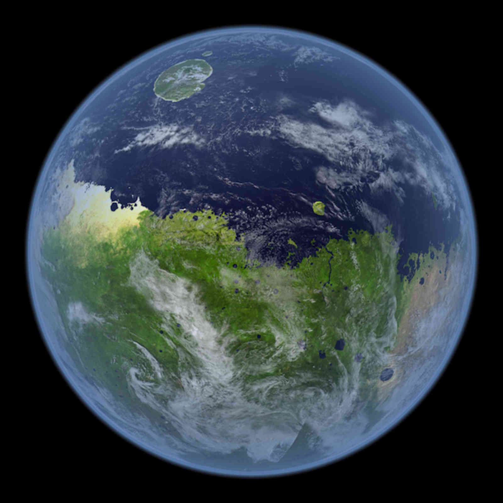 other planets like earth - HD1600×1600